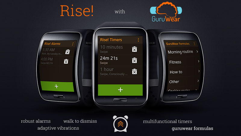 Rise! with GuruWear