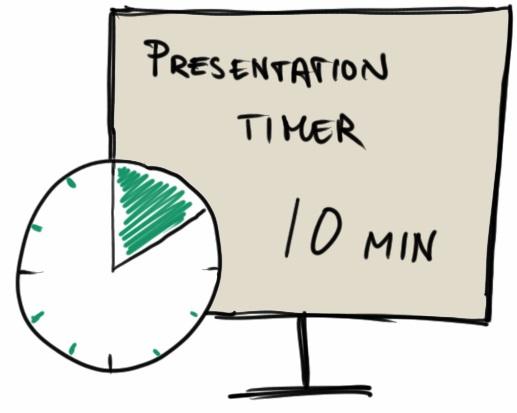 10 Min Presentation Timer