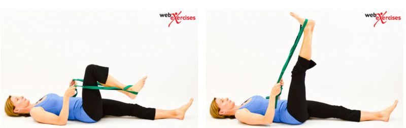 Knee Stretching Home Exercises