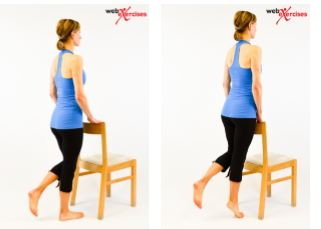 Calf Strengthening: Single-leg heel raises