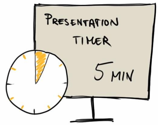 5 Min Presentation Timer